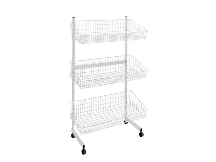 Trolleys and baskets